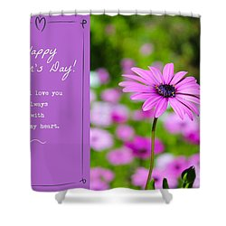Mother's Day Love Shower Curtain