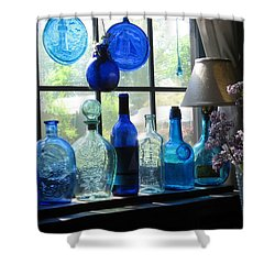 Mother's Day Window Shower Curtain by John Scates