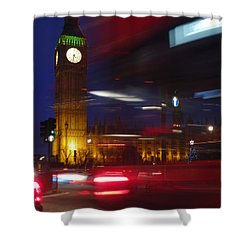 Motion Shower Curtain