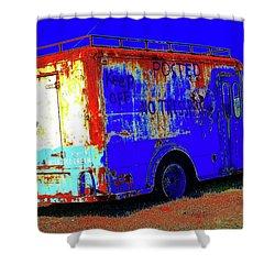 Motor City Pop #13 Shower Curtain
