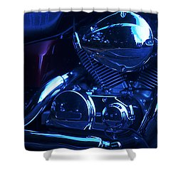 Motorcycle Honda File Shower Curtain