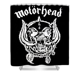 Motorhead Shower Curtain