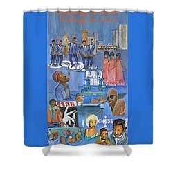 Motown Commemorative 50th Anniversary Shower Curtain