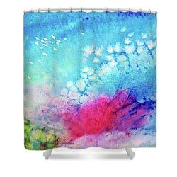 Motu Tehurui Shower Curtain