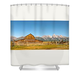 Moulton Barn II Shower Curtain