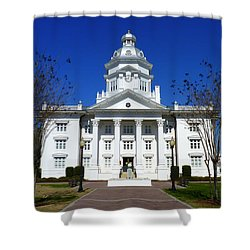 Moultrie Courthouse Shower Curtain