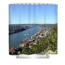 Mount Bonnell Shower Curtain