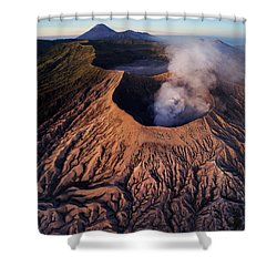 Mount Bromo At Sunrise Shower Curtain