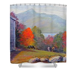 Mount Chocorua Shower Curtain