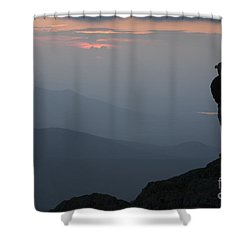 Mount Clay Sunset - White Mountains New Hampshire Usa Shower Curtain