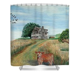 Mount Hope Plantation Shower Curtain by Lyric Lucas