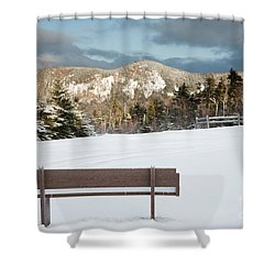 Mount Huntington - White Mountains New Hampshire  Shower Curtain by Erin Paul Donovan