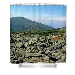 Mount Jefferson - White Mountains New Hampshire  Shower Curtain