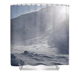Mount John Quincy Adams - White Mountains Nh Shower Curtain by Erin Paul Donovan
