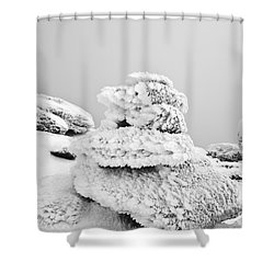 Mount Liberty - White Mountains New Hampshire Shower Curtain by Erin Paul Donovan