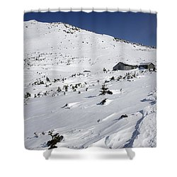 Mount Madison - White Mountains New Hampshire Usa Shower Curtain by Erin Paul Donovan