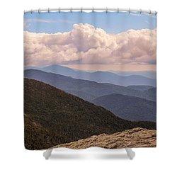 Mount Mansfield Vermont Shower Curtain