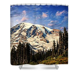 Mount Ranier Shower Curtain