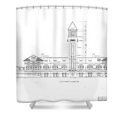 Mount Royal Station Shower Curtain