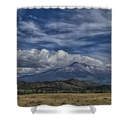 Mount Shasta 9946 Shower Curtain