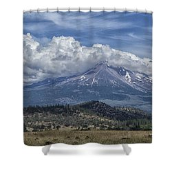 Mount Shasta 9950 Shower Curtain
