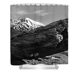 Mount St Helen Shower Curtain