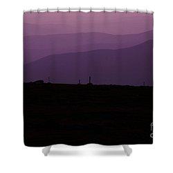 Mount Washington New Hampshire - Auto Road Shower Curtain by Erin Paul Donovan