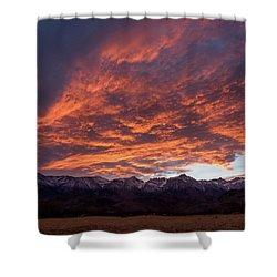 Mount Whitney Shower Curtain