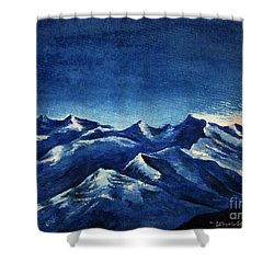 Mountain-4 Shower Curtain
