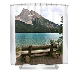Mountain Calm Shower Curtain