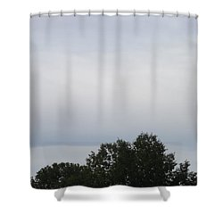 Mountain Clouds 3 Shower Curtain by Don Koester