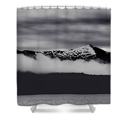 Mountain Contrast Shower Curtain
