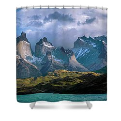 Mountain Dream Shower Curtain by Andrew Matwijec