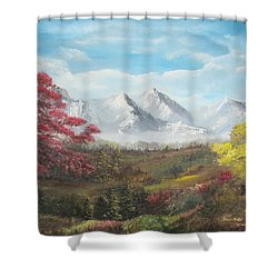 Mountain High Shower Curtain