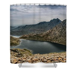 Mountain Hike Shower Curtain