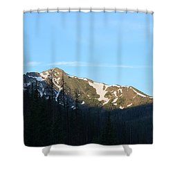 Mountain In Rocky Mountian Np Co Shower Curtain