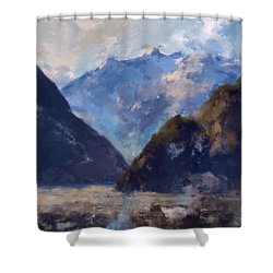 Mountain Majesty Shower Curtain