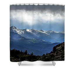 Mountain Moodiness Shower Curtain