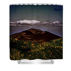 Shower Curtain featuring the photograph Mountain Of Love by B Wayne Mullins