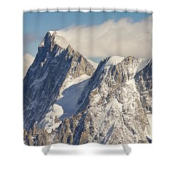 Mountain Rescue Shower Curtain