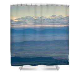 Mountain Scenery 11 Shower Curtain by Jean Bernard Roussilhe