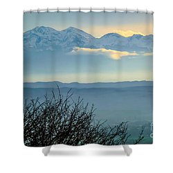 Mountain Scenery 14 Shower Curtain by Jean Bernard Roussilhe