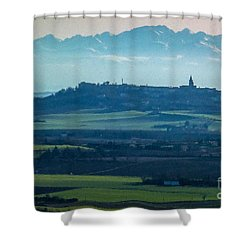 Mountain Scenery 4 Shower Curtain