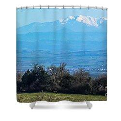 Mountain Scenery 6 Shower Curtain