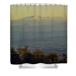 Mountain Scenery 8 Shower Curtain
