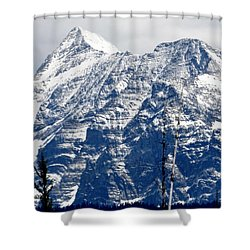 Mountain Snow Shower Curtain