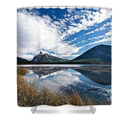 Mountain Splendor Shower Curtain