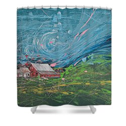 Strong Storm Shower Curtain