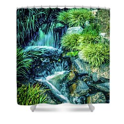 Shower Curtain featuring the photograph Mountain Stream by Samuel M Purvis III