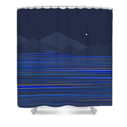 Mountain Tops Shower Curtain